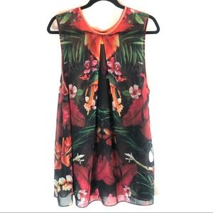 Ted Baker London Tropical Swim Suit Cover Small